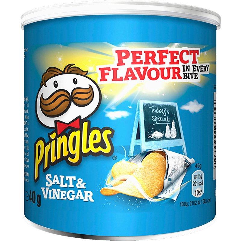 Pringles Salt & Vinegar - 20% rabatt