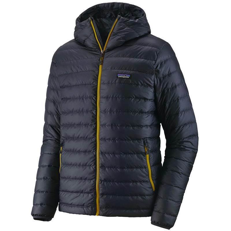 Patagonia Down Sweater Hoody XL Hettejakke, herre, Smoulder Blue