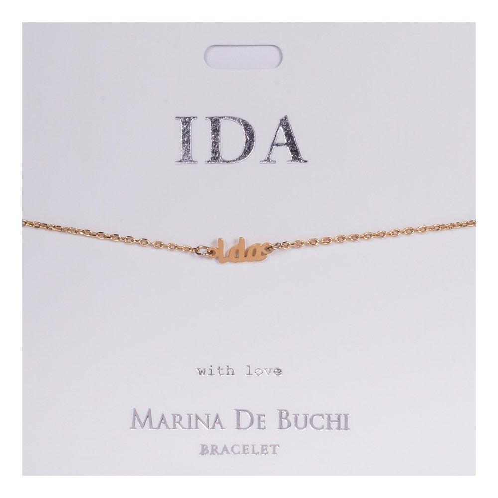 Namnarmband Guld - Ida