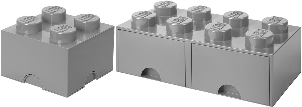 LEGO Laatikkopaketti, Harmaa