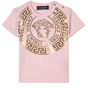 Versace Medusa Print T-shirt Rosa 24 mån