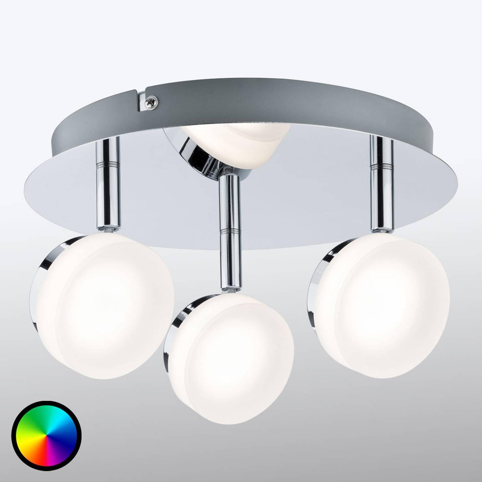 Paulmann Smart Friends LED-taklampe Iro RGBW