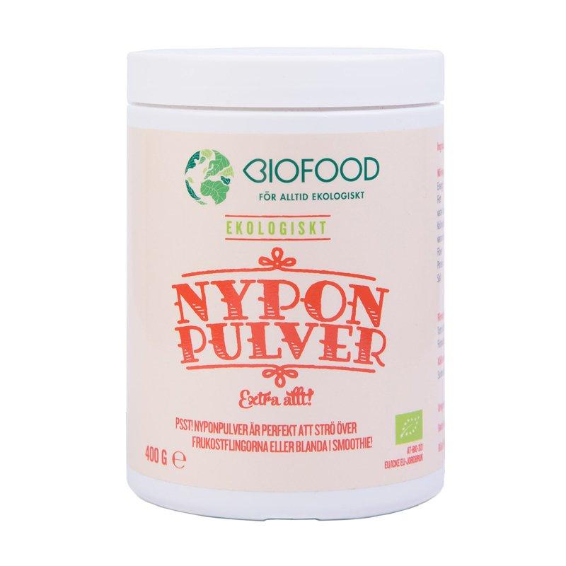 Nyponpulver 400g Biofood EKO - 61% rabatt