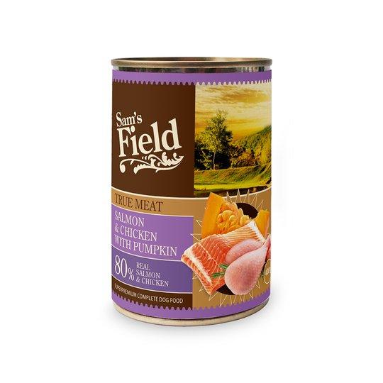 Sam's Field Salmon & Chicken 400 g