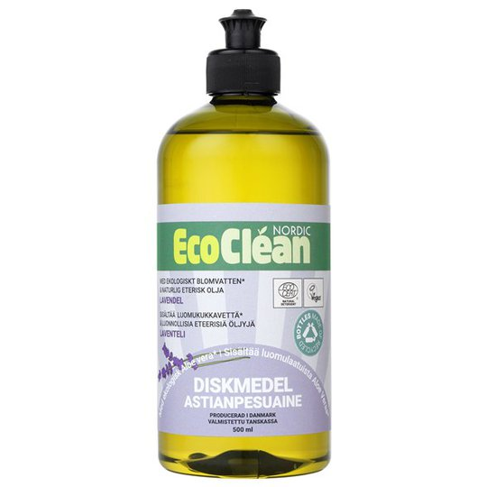 EcoClean Nordic Naturligt Diskmedel Lavendel, 500 ml