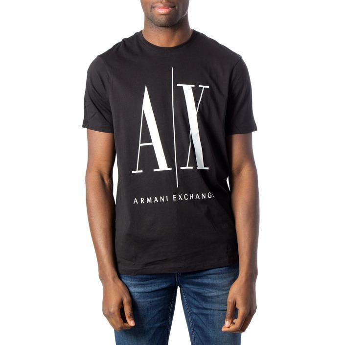 Armani Exchange Men's T-Shirt Black 171384 - black XS