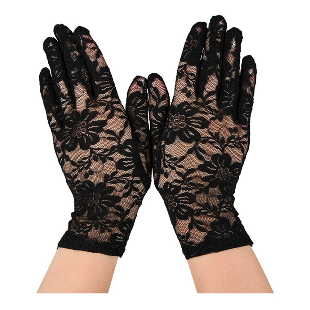 Spetshandskar Svarta - One size