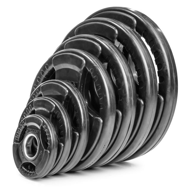Gymstick Rubber Weight Plate, Viktskiva Gummerad