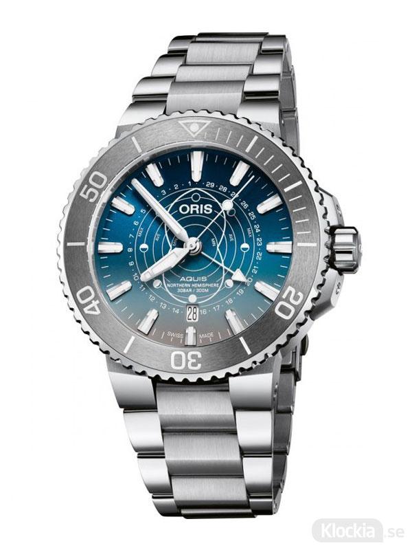 ORIS Aquis 43.5mm Dat Watt Limited Edition 761-7765-4185-Set