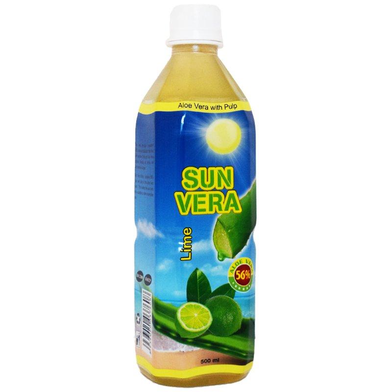 Aloe Vera-dryck Lime 500ml - 50% rabatt