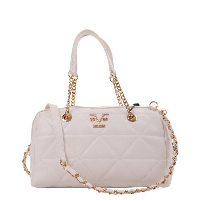 19v69 Italia Women's Handbag White 319005 - white UNICA