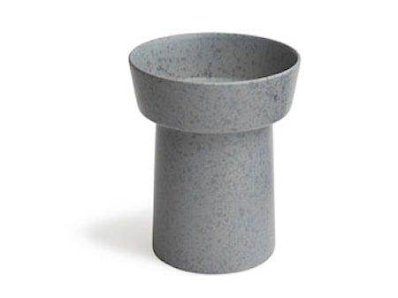 Ombria vase Grå Glatt H 20 cm