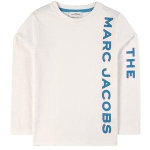 The Marc Jacobs Logo Tröja Off white 2 år
