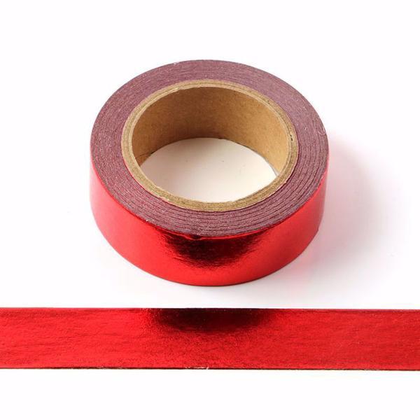 Metallic Red Washi Tape