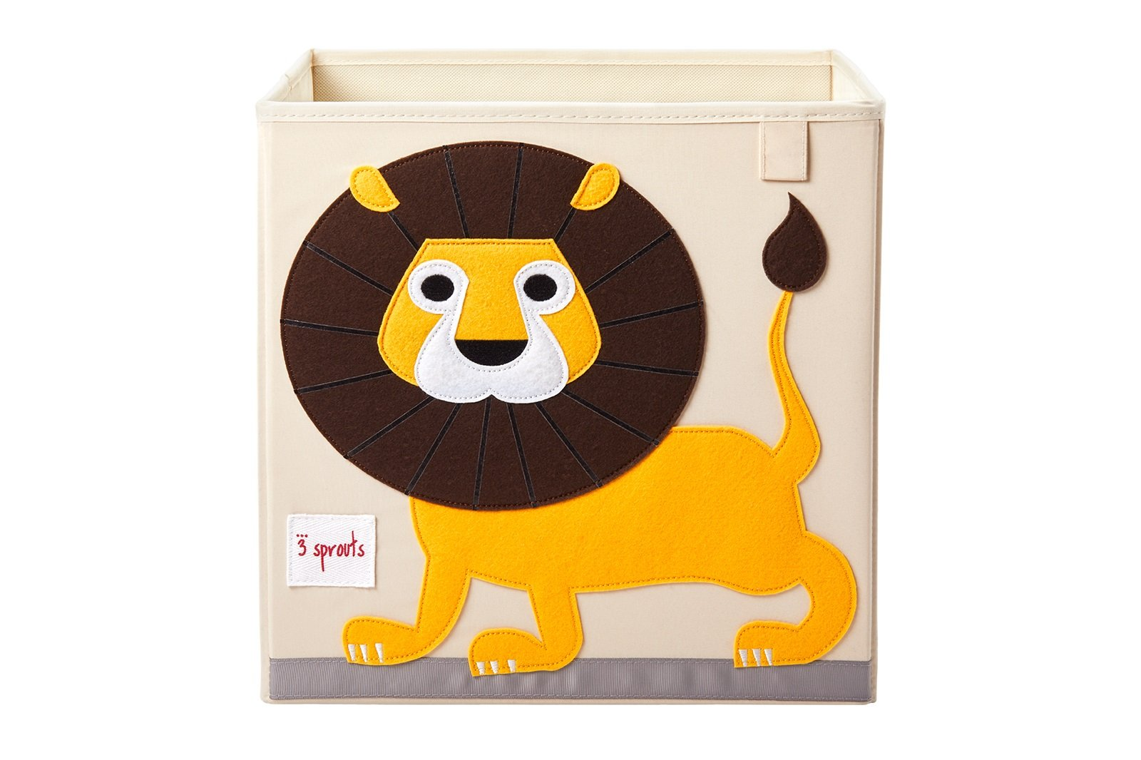 3 Sprouts - Storage Box - Yellow Lion