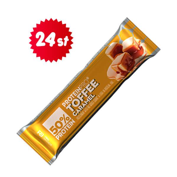 ProteinPro Bar Toffee/Caramel 45g x 24