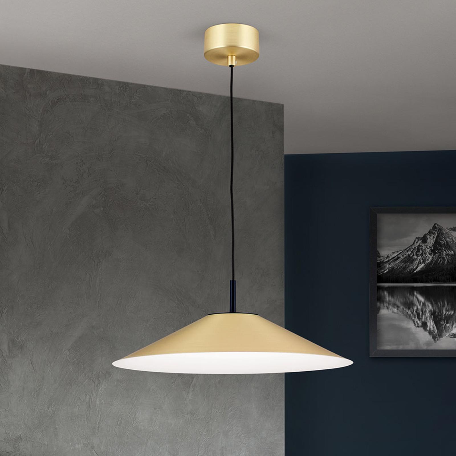 LED-riippuvalaisin Gourmet, mattamessinkivarjostin