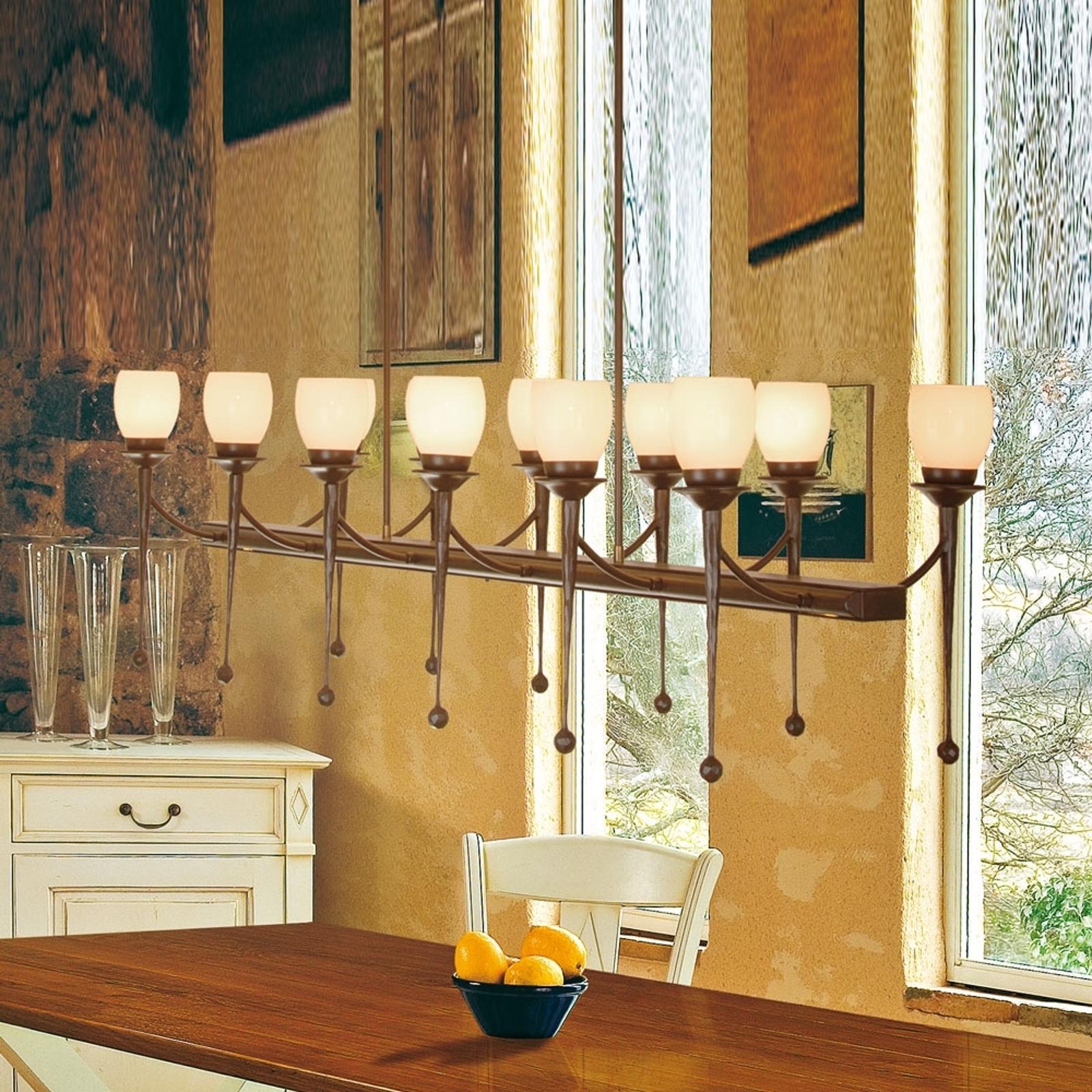 Menzel Chateau -riippuvalaisin, 12-lamppuinen