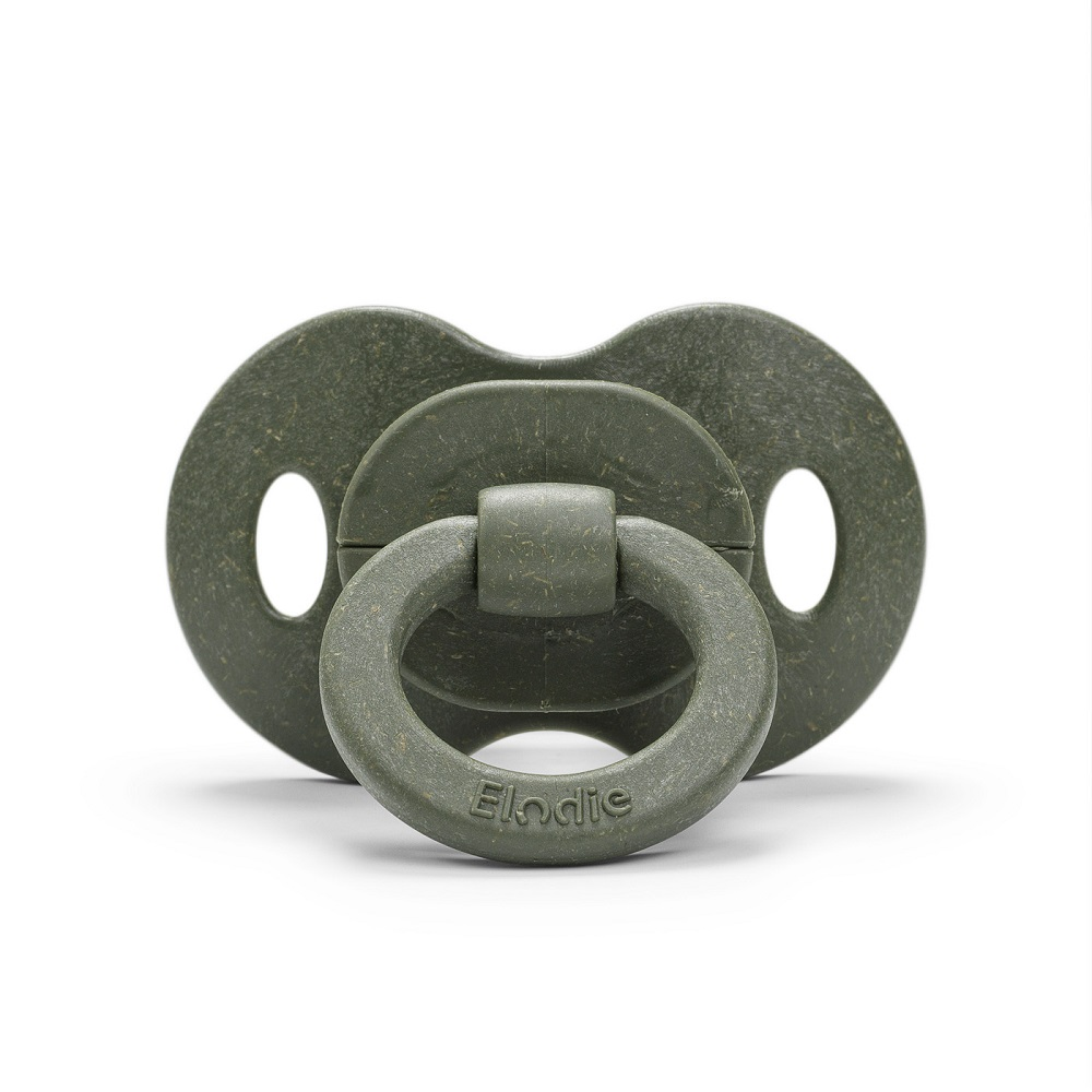 Bamboo Soother Natural Rubber 3+ months - Rebel Green