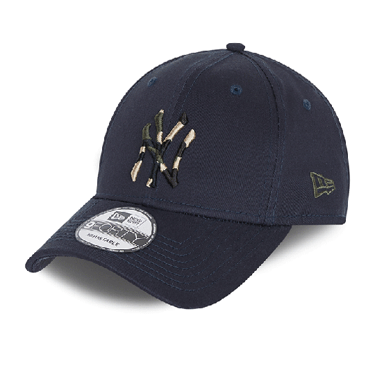 Camo Infill 9FORTY New York Yankees, Navy/Camo