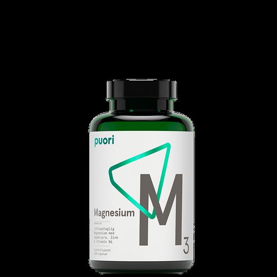 M3 Magnesium & Zink Vegan, 180 kapslar