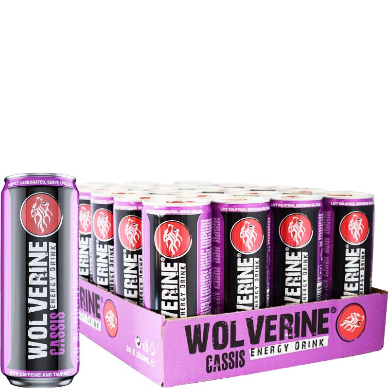 Energidryck Wolverine 24-pack - 59% rabatt