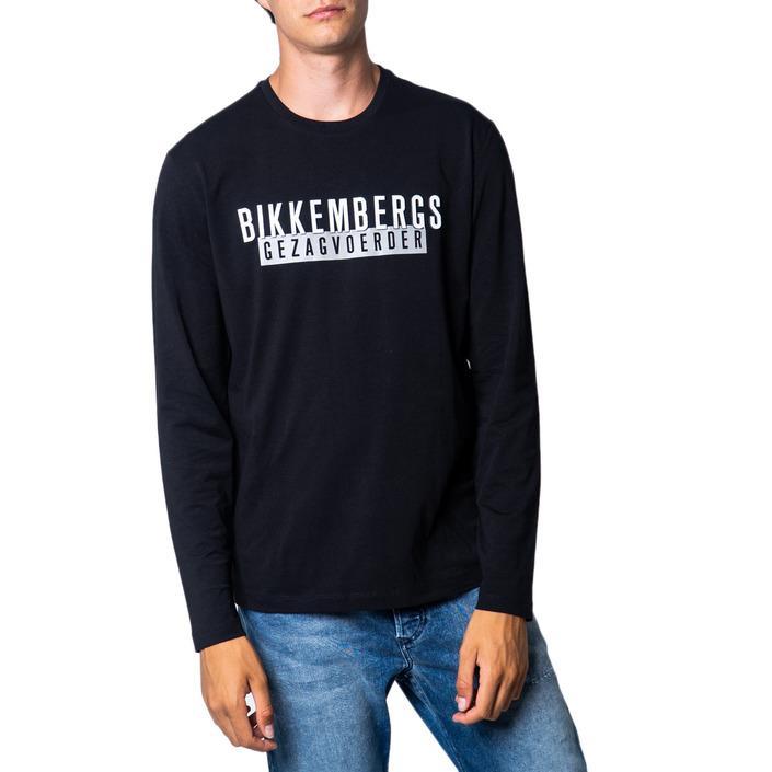 Bikkembergs Men's T-Shirt Various Colours 175516 - black L