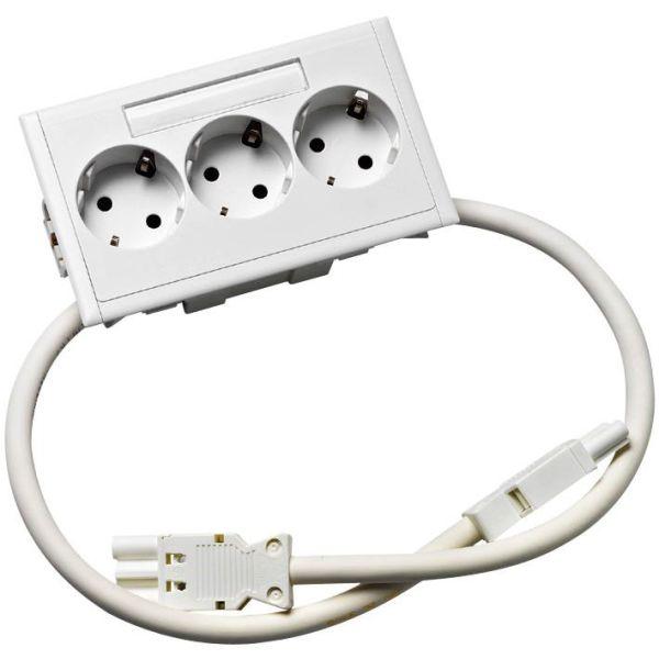 Schneider Electric 5940200 Masteruttak 3-veis, hvit
