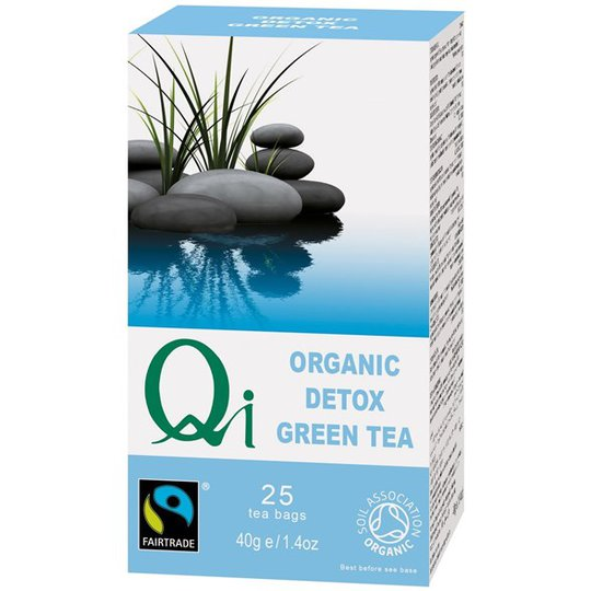 Qi Teas Grönt Te Detox, 25 påsar
