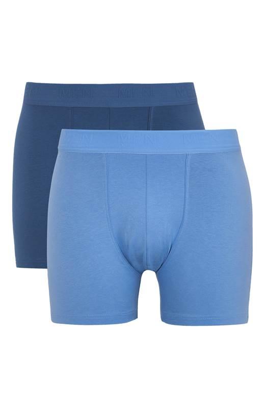 Cellbes Boxerkalsong 2-Pack Blå Jeansblå