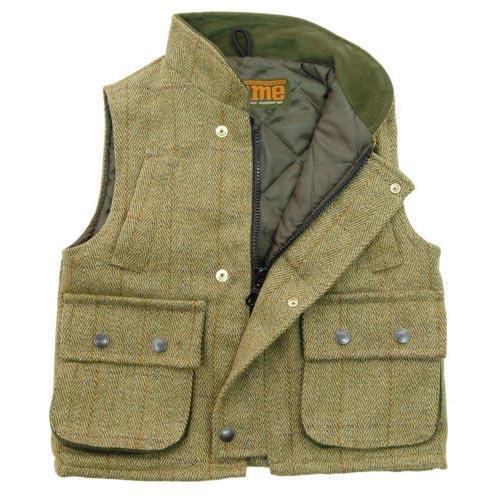 Game Technical Apparel Kid's Jacket Fife Tweed Gilet - Fife 22