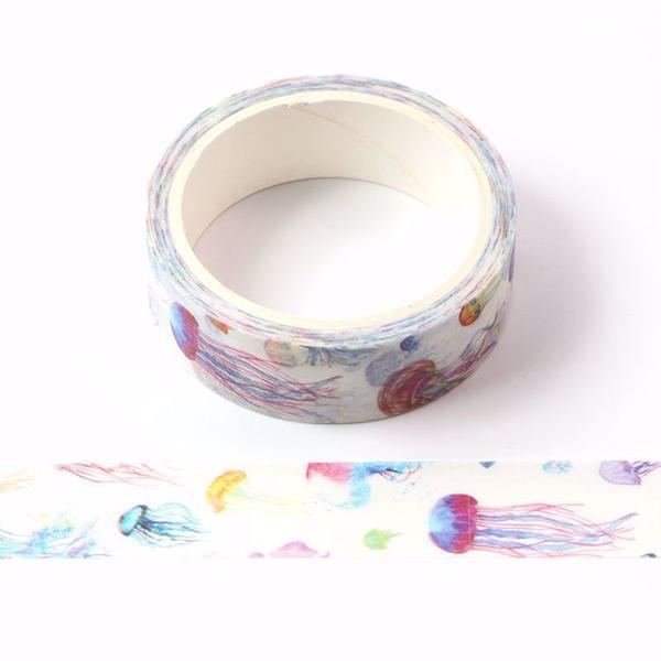 Jellyfish Washi Tape