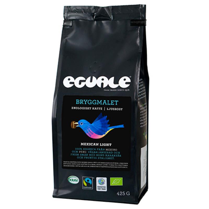 "Eko Kaffe ""Eguale Mexican Light"" bryggmalet 425g - 38% rabatt"