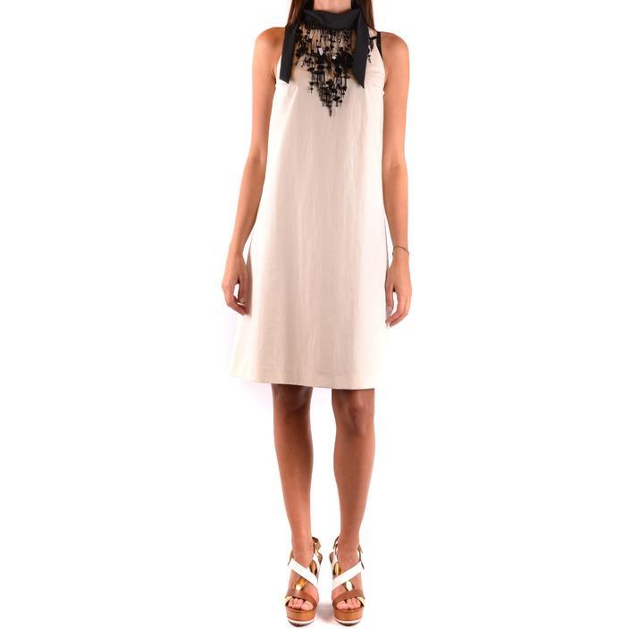 Brunello Cucinelli Women's Dress White 163897 - white L