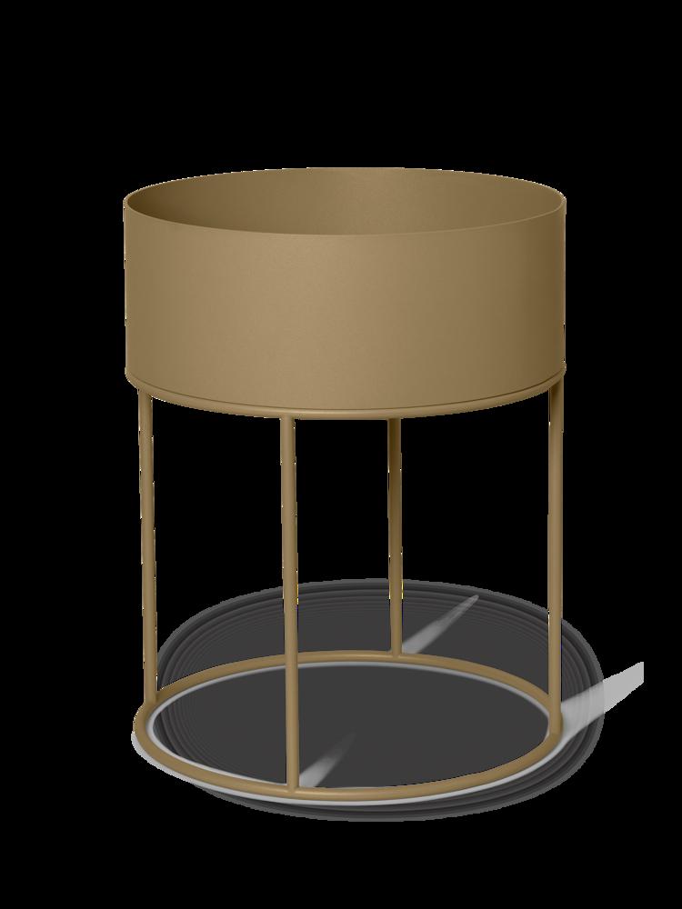 Ferm Living - Plant Box Round - Oliven (1104263191)