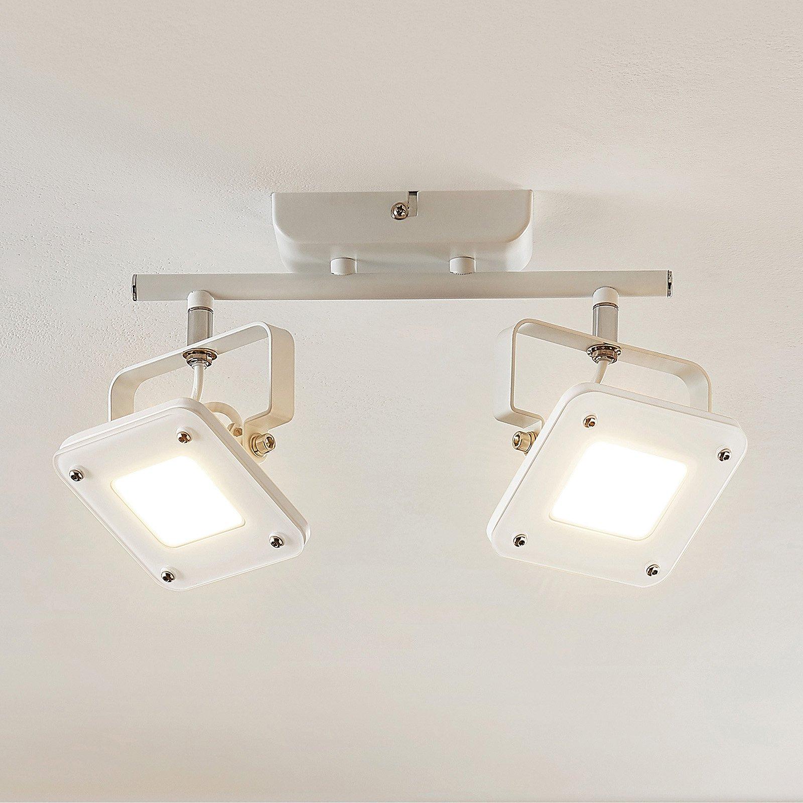LED-takspot Juliana, dimbar, 2 lyskilder