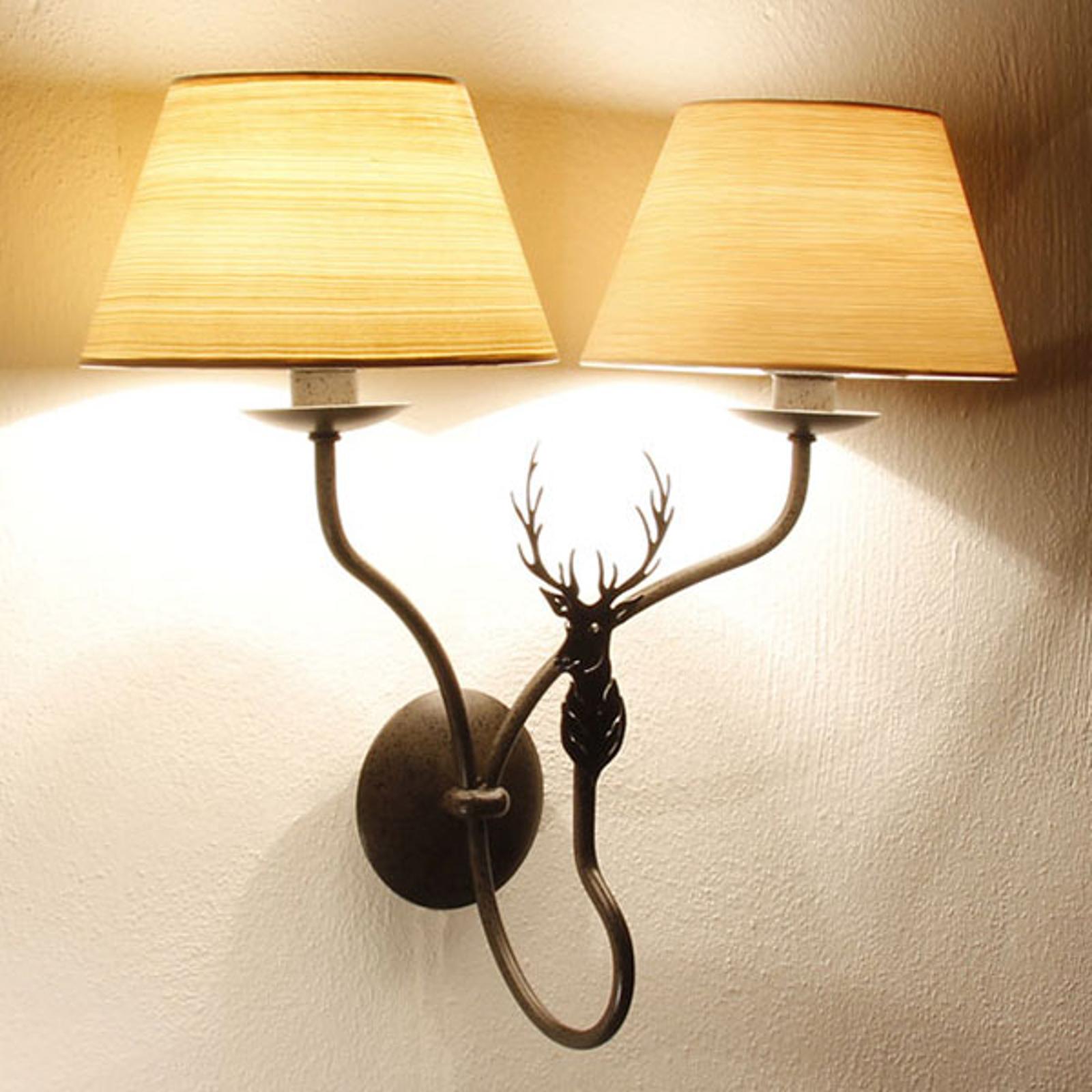 Menzel TH7362 -seinälamppu, 2-lamppuinen