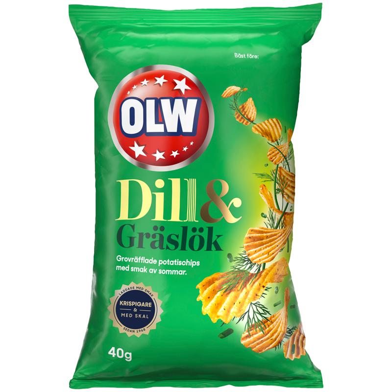 Chips Dill & Gräslök - 22% rabatt