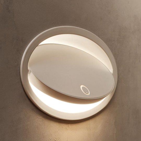 Grok Ely innfelt LED-vegglampe med touchdimmer