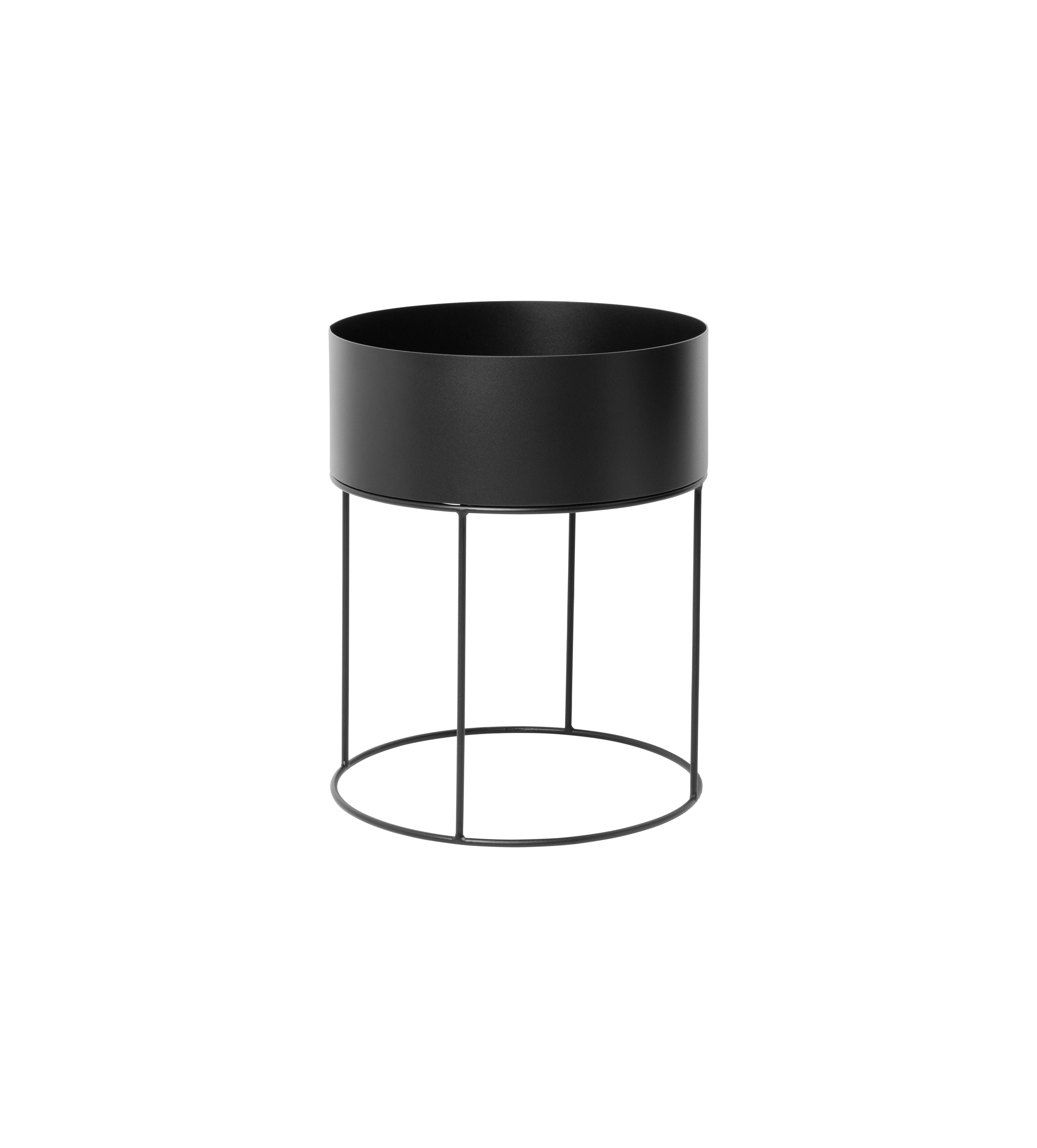 Ferm Living - Plant Box Round - Black (3356)