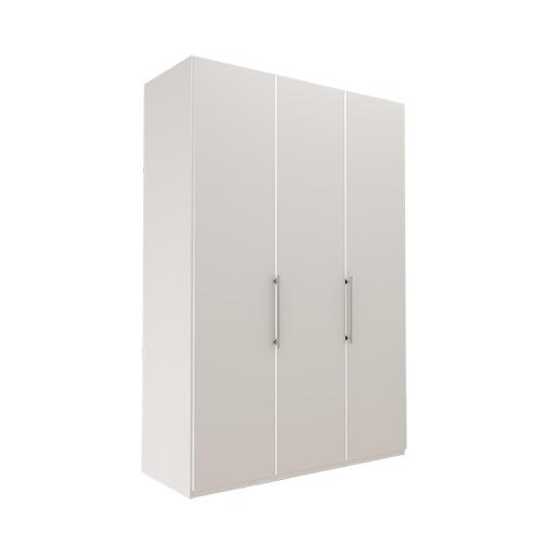 Garderobe Atlanta - Hvit 150 cm, 236 cm, Uten gesims / ramme