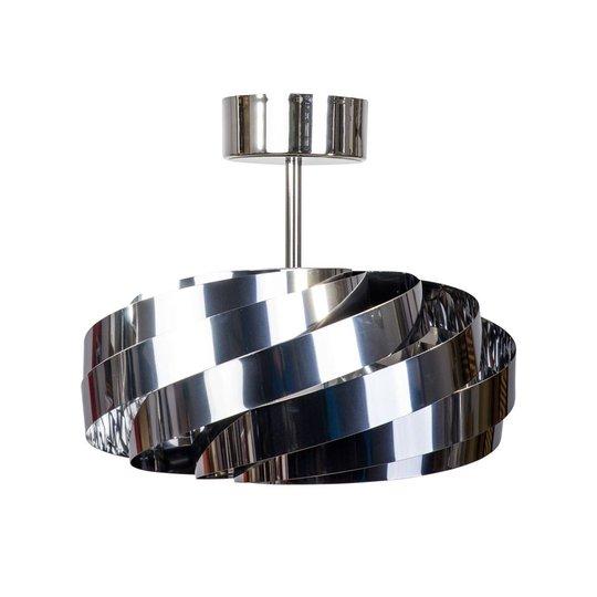Vento taklampe krom-nikkel Ø 40cm