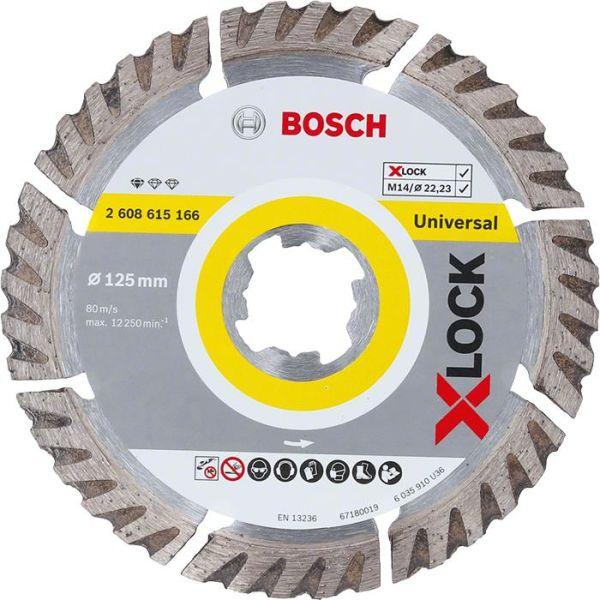 Bosch Standard for Universal Diamantkappskive X-LOCK 115 × 22,23 × 2 × 10 mm