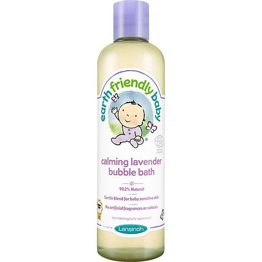 Earth Friendly Baby Calming Lavender Bubble Bath, 300 ml