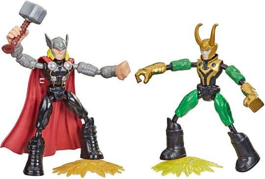 Marvel Avengers Bend And Flex Figur Thor vs Loke