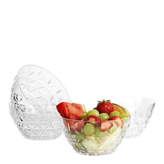 Sagaform - Picknick Skål 12 cm 4-pack