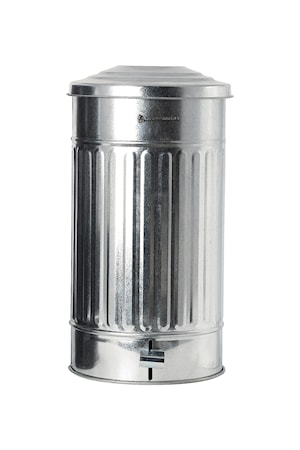 Soptunna Ø 25,5 cm 24 L - Silver
