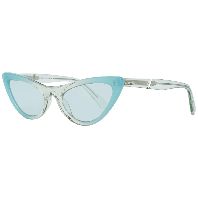 Diesel Women's Sunglasses Turquoise DL0303 5489V