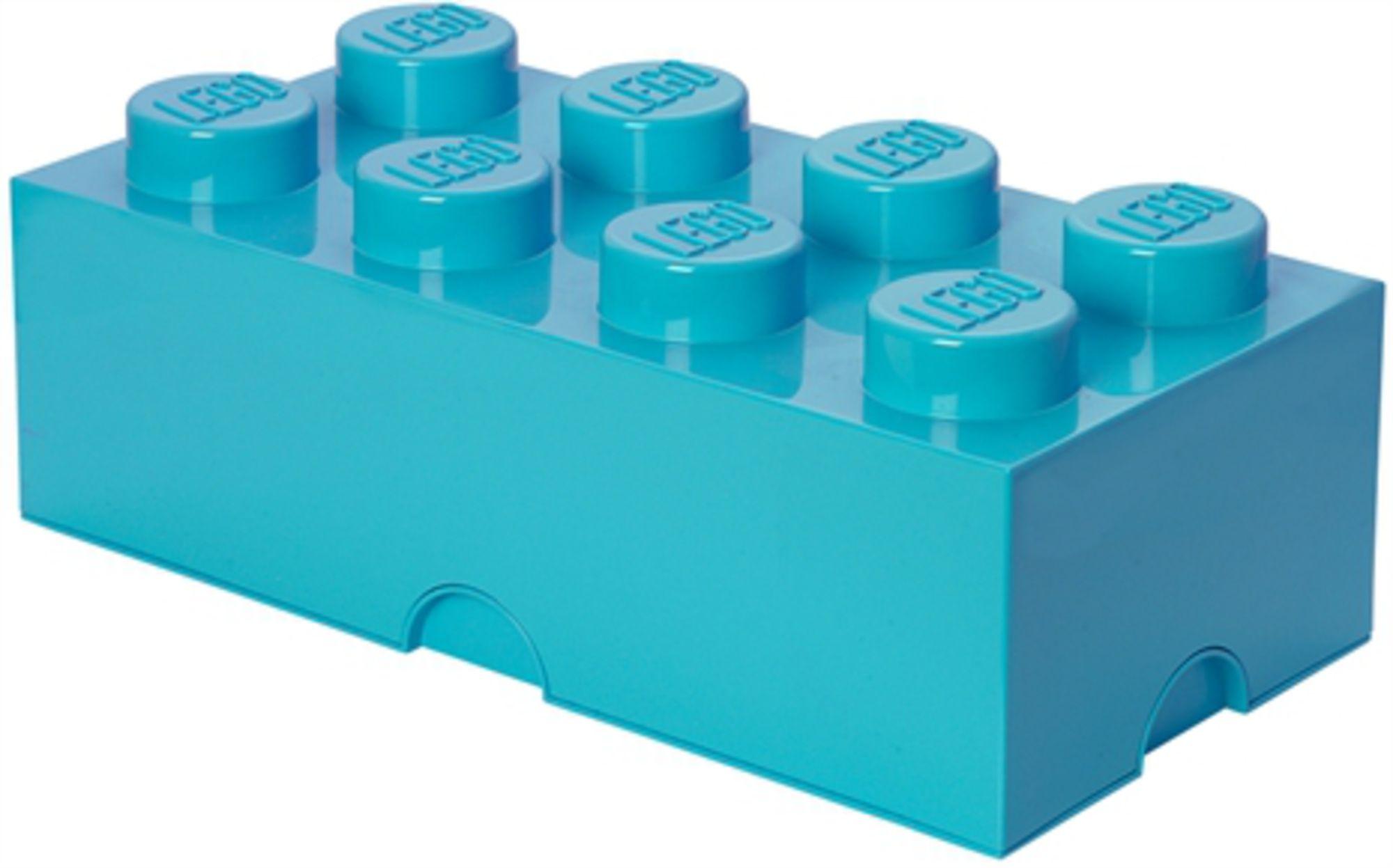 LEGO Säilytyslaatikko 8 Design Collection, Azur