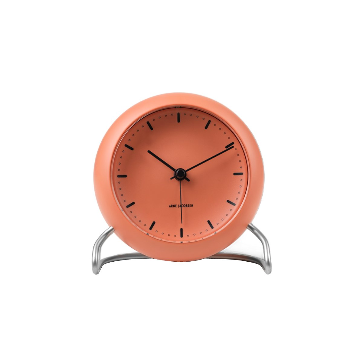 Arne Jacobsen - City Hall Table Clock - Red (43692)